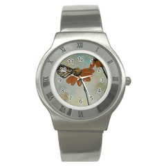 Monarch Stainless Steel Watch (Slim)