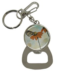Monarch Bottle Opener Key Chain
