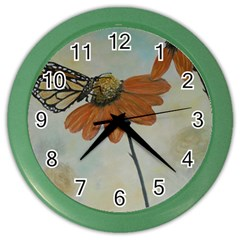 Monarch Wall Clock (Color)