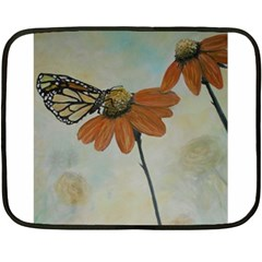 Monarch Mini Fleece Blanket (Two Sided)