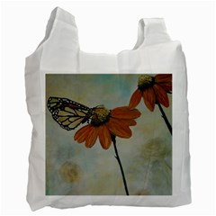Monarch White Reusable Bag (One Side)