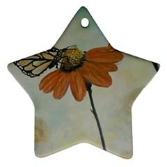 Monarch Star Ornament