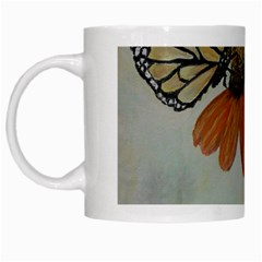 Monarch White Coffee Mug
