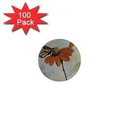 Monarch 1  Mini Button Magnet (100 pack)