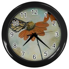 Monarch Wall Clock (Black)