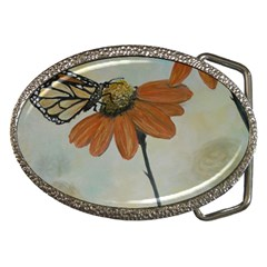 Monarch Belt Buckle (Oval)