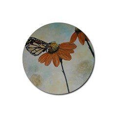 Monarch Drink Coasters 4 Pack (Round)