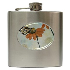 Monarch Hip Flask