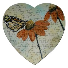 Monarch Jigsaw Puzzle (heart)