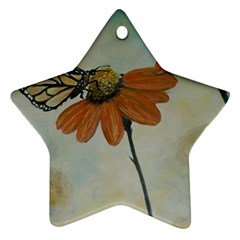 Monarch Star Ornament (Two Sides)