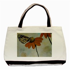 Monarch Twin-sided Black Tote Bag