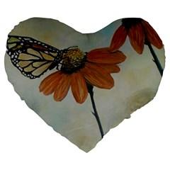 Monarch 19  Premium Heart Shape Cushion