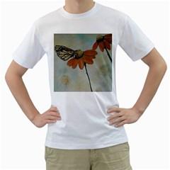 Monarch Men s T-Shirt (White)