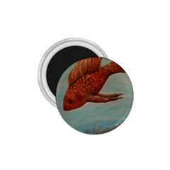 Gold Fish 1.75  Button Magnet