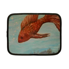 Gold Fish Netbook Sleeve (small)