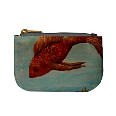 Gold Fish Coin Change Purse