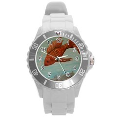 Gold Fish Plastic Sport Watch (large)