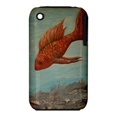 Gold Fish Apple iPhone 3G/3GS Hardshell Case (PC+Silicone)