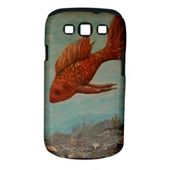 Gold Fish Samsung Galaxy S III Classic Hardshell Case (PC+Silicone)