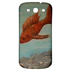 Gold Fish Samsung Galaxy S3 S Iii Classic Hardshell Back Case