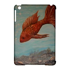 Gold Fish Apple iPad Mini Hardshell Case (Compatible with Smart Cover)