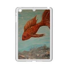 Gold Fish Apple iPad Mini 2 Case (White)