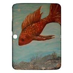 Gold Fish Samsung Galaxy Tab 3 (10.1 ) P5200 Hardshell Case