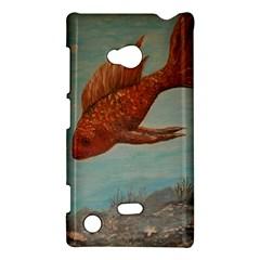 Gold Fish Nokia Lumia 720 Hardshell Case