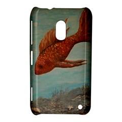 Gold Fish Nokia Lumia 620 Hardshell Case