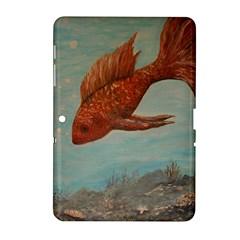 Gold Fish Samsung Galaxy Tab 2 (10.1 ) P5100 Hardshell Case
