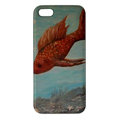 Gold Fish iPhone 5S Premium Hardshell Case