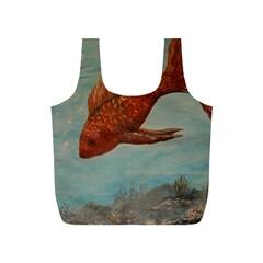 Gold Fish Reusable Bag (S)