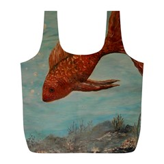 Gold Fish Reusable Bag (l)