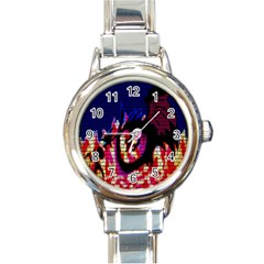 My Dragon Round Italian Charm Watch