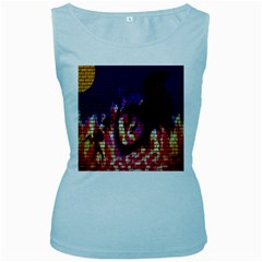 My Dragon Women s Tank Top (Baby Blue)