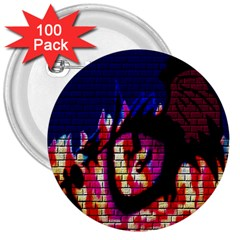 My Dragon 3  Button (100 pack)