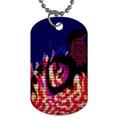 My Dragon Dog Tag (One Sided)