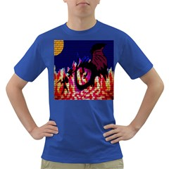 My Dragon Men s T-shirt (Colored)