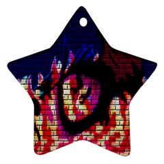 My Dragon Star Ornament (Two Sides)
