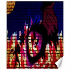 My Dragon Canvas 8  x 10  (Unframed)