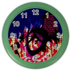 My Dragon Wall Clock (color)