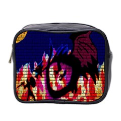 My Dragon Mini Travel Toiletry Bag (two Sides)