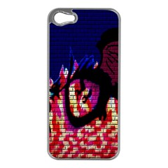 My Dragon Apple iPhone 5 Case (Silver)