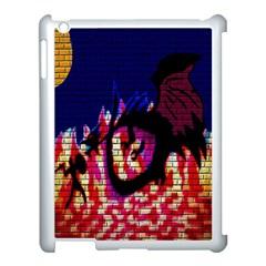 My Dragon Apple Ipad 3/4 Case (white)