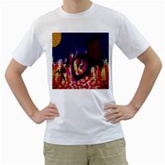 My Dragon Men s T-Shirt (White)