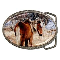 Pretty Pony Belt Buckle (Oval)