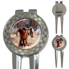 Pretty Pony Golf Pitchfork & Ball Marker