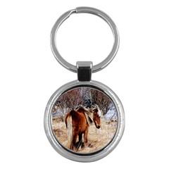 Pretty Pony Key Chain (Round)