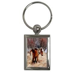 Pretty Pony Key Chain (Rectangle)