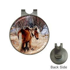 Pretty Pony Hat Clip with Golf Ball Marker